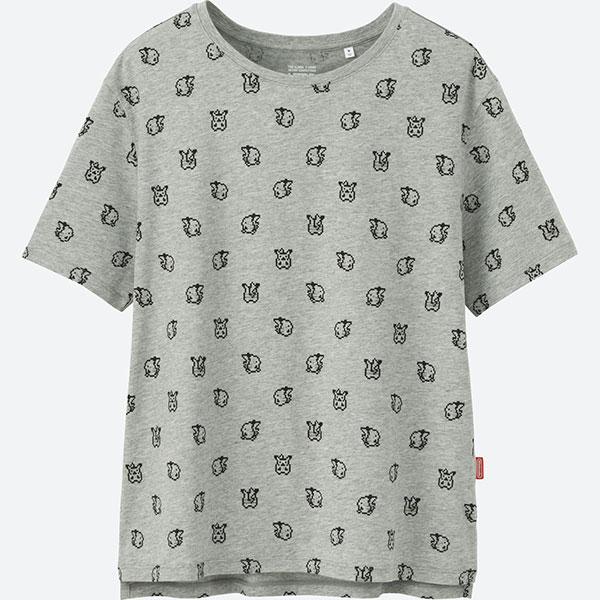 pikachu uniqlo tshirt