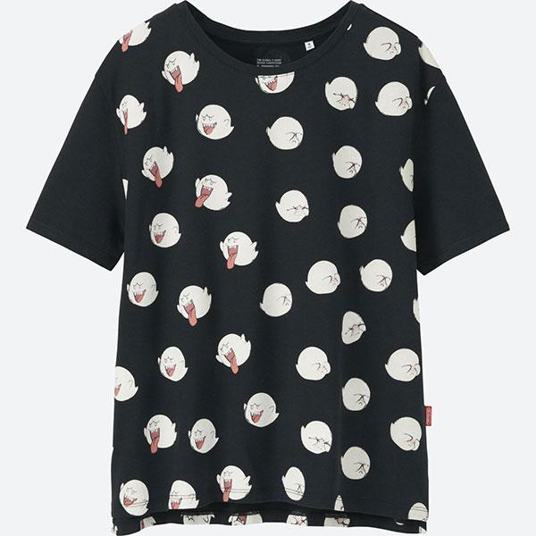 boo ghost nintendo tshirt