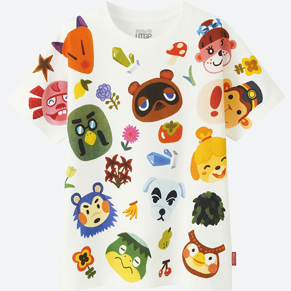 animal crossing nintendo tshirt