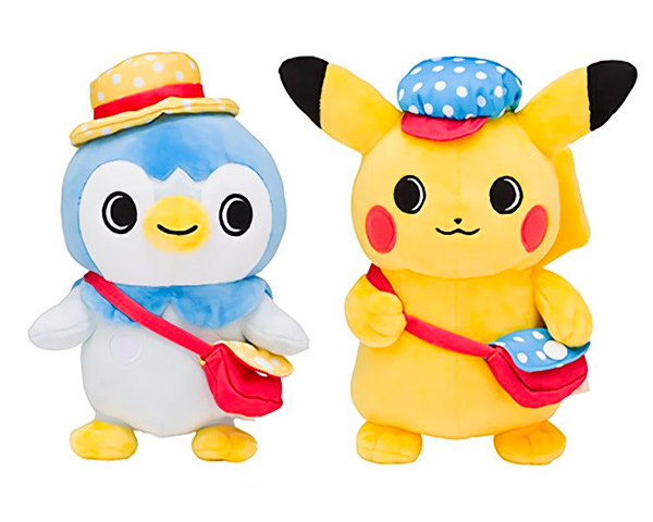 Pikachu & Piplup Pokemon plush