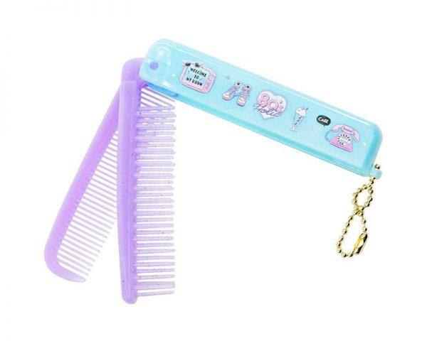 kawaii foldable comb