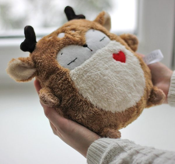 Cute Animal Decorations - deer heating pad