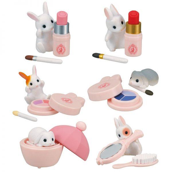Kawaii Gachapon Capsule Toys - bunny cosmetics