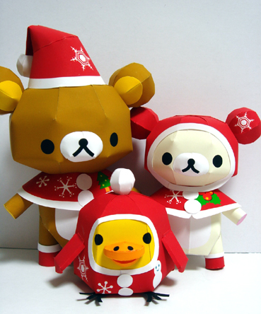 rilakkuma christmas crafts