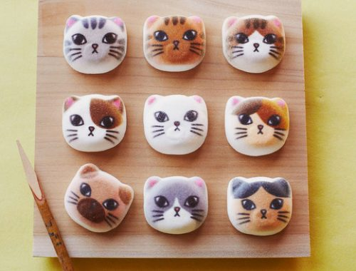 cat marshmallows