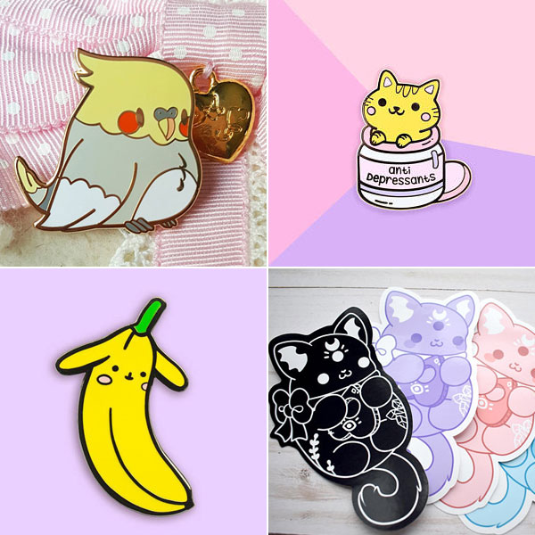 2017 favourite kawaii etsy shops