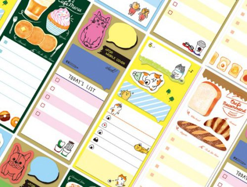Yozo Craft planner stickers