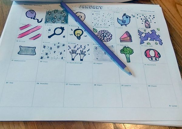 One Year Doodle Challenge