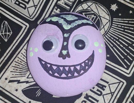 Halloween Monster Rocks