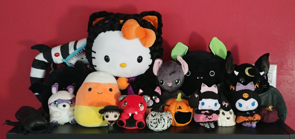 kawaii Halloween plush