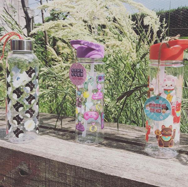 kawaii water bottles
