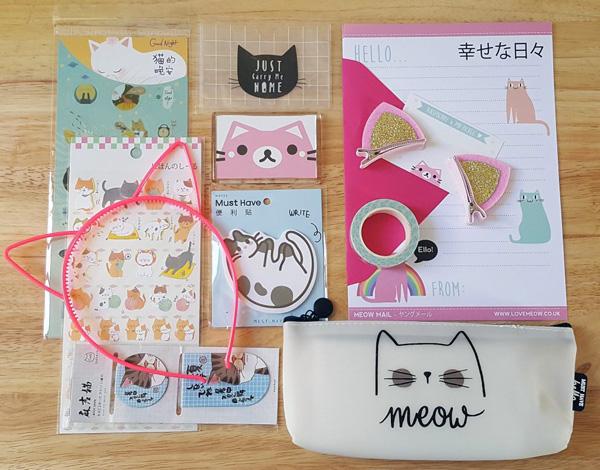 Love Meow cat surprise box