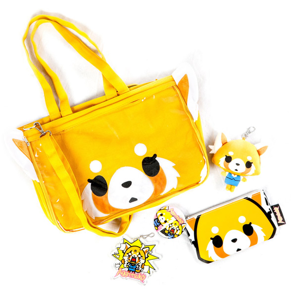 Aggretsuko red panda ita bag
