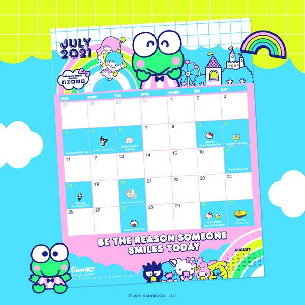 Keroppi printable calendar