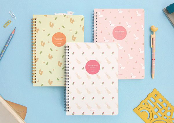 kawaii squirrels planners