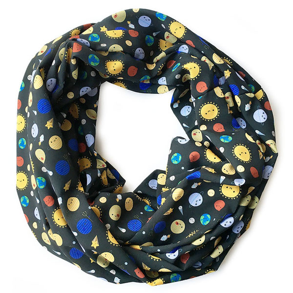 kawaii infinity scarf