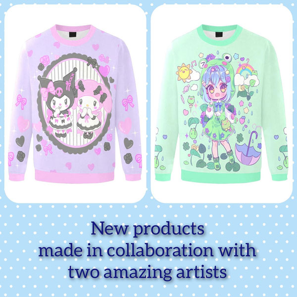 kawaii sweatshirts