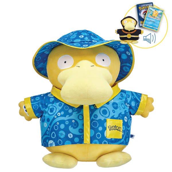 Detective Pikachu Psyduck Pokemon plush