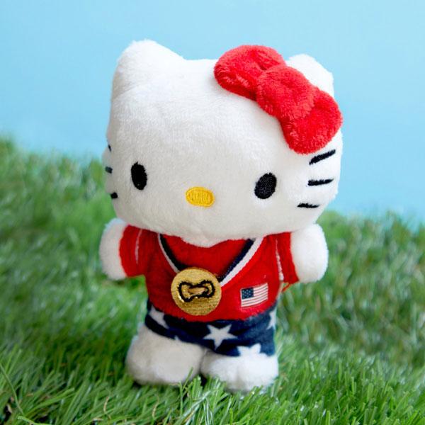 Hello Kitty x Team USA plush