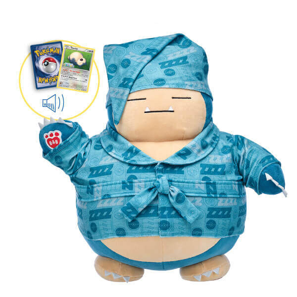 Snorlax Plush at Build-A-Bear