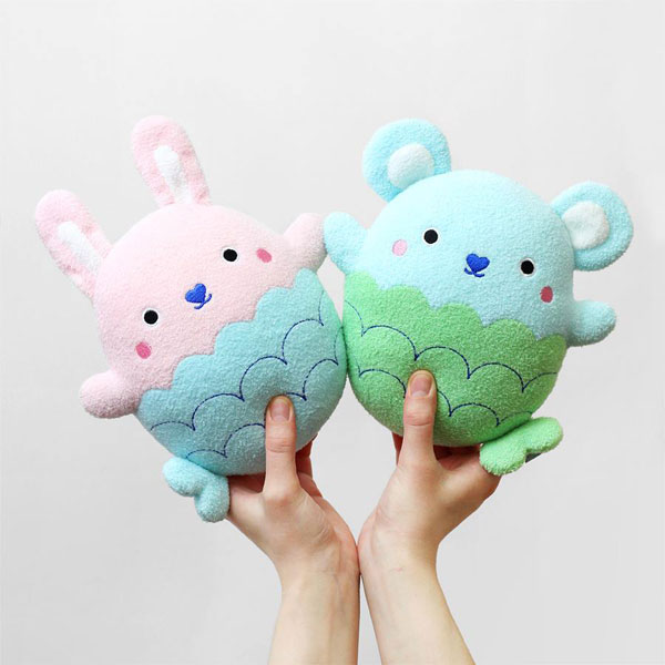 Noodoll Plush mermaid bunny