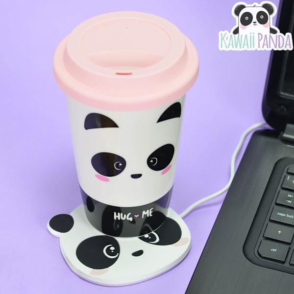 kawaii panda travel cup