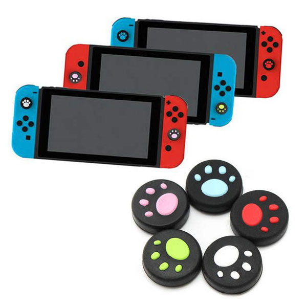 Cute Cat Paws Nintendo Switch thumb grips