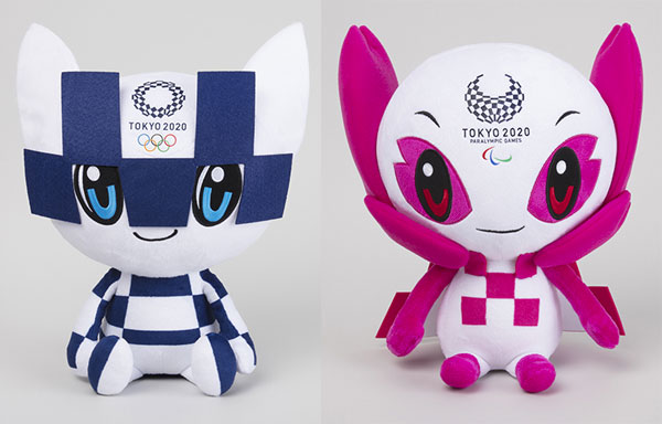Tokyo Olympic Games mascots plush
