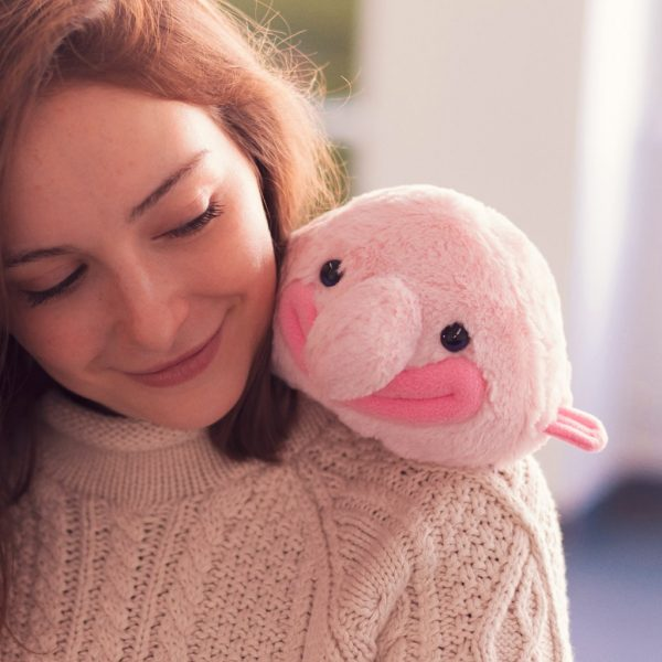 blobfish kawaii plush