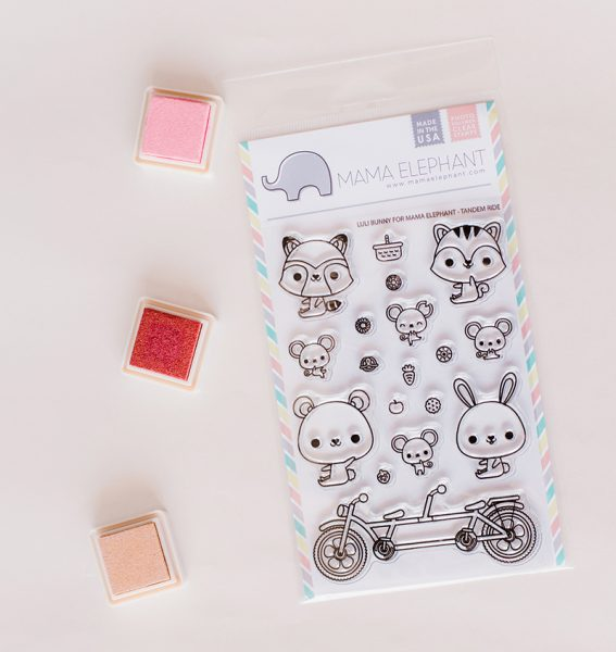 clear stamps kawaii animals