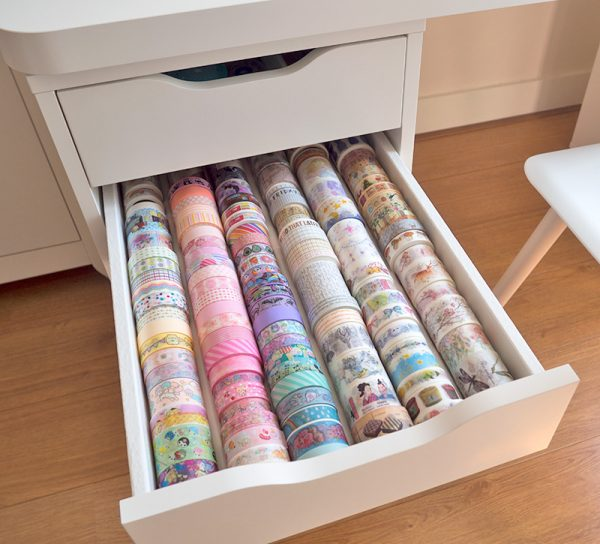 Washi Tape Storage Ideas