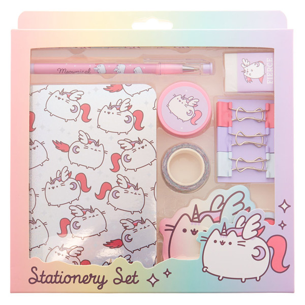 Pusheen kawaii stationery set