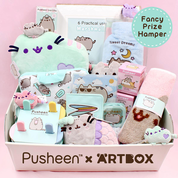 Pusheen x ARTBOX fancy hamper giveaway