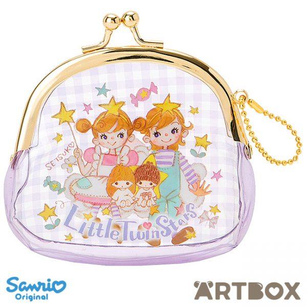 Setsuko Tamura x Sanrio Little Twin Stars purse