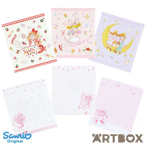 Setsuko Tamura x Sanrio memo pad