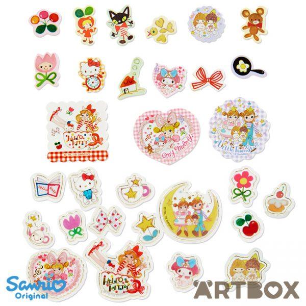 Setsuko Tamura x Sanrio sticker flakes