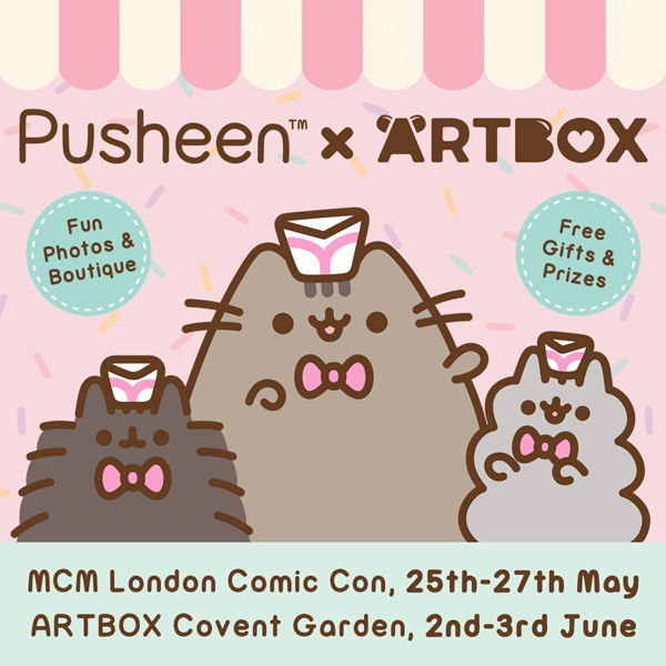 Pusheen x ARTBOX MCM London Comic Con