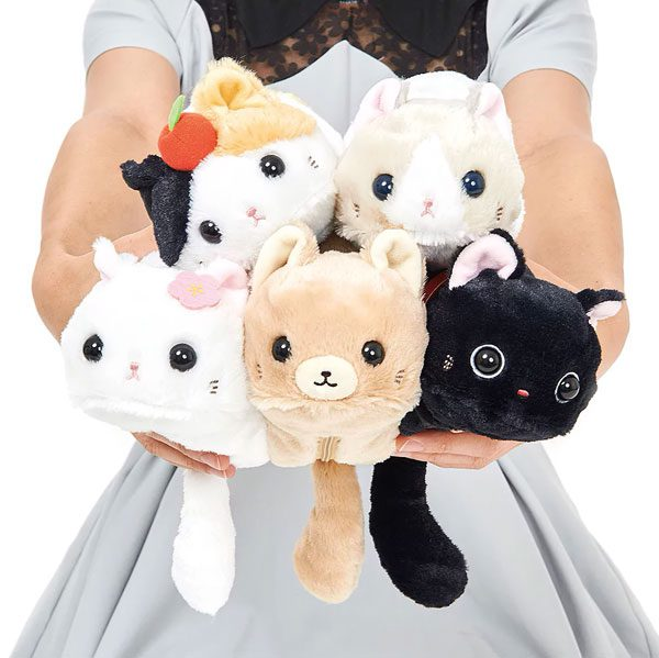 Back To School Kawaii Stationery - cat plush pencil cases