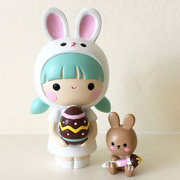 kawaii easter momiji doll