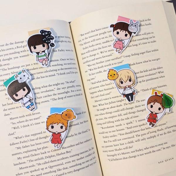 Ghibli Kawaii Bookmarks