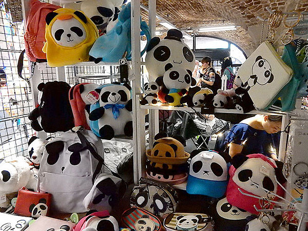 suki panda at hyper japan