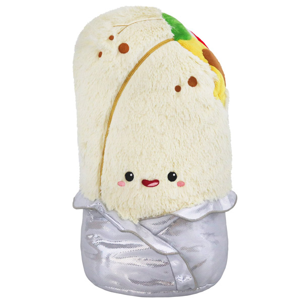 kawaii plush burrito