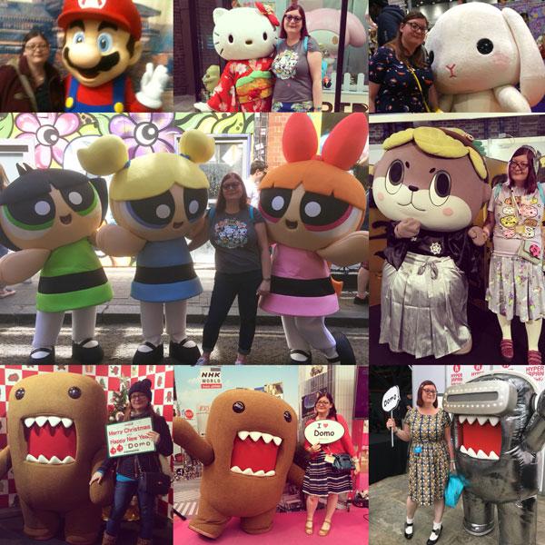 Nicolette's kawaii mascot meetings
