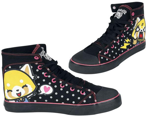 Aggretsuko sneakers