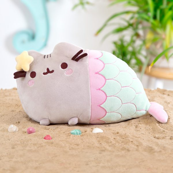 Cute Mermaid pusheen plush