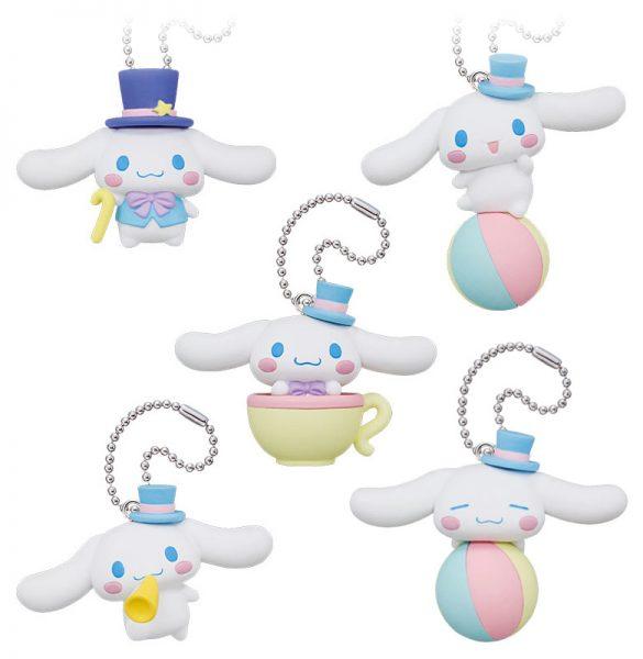 Kawaii Gachapon Capsule Toys - cinnamoroll charms
