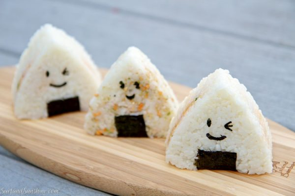 kawaii onigiri recipe
