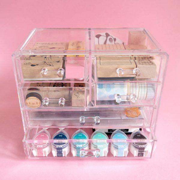 cute storage ideas - stationery drawers