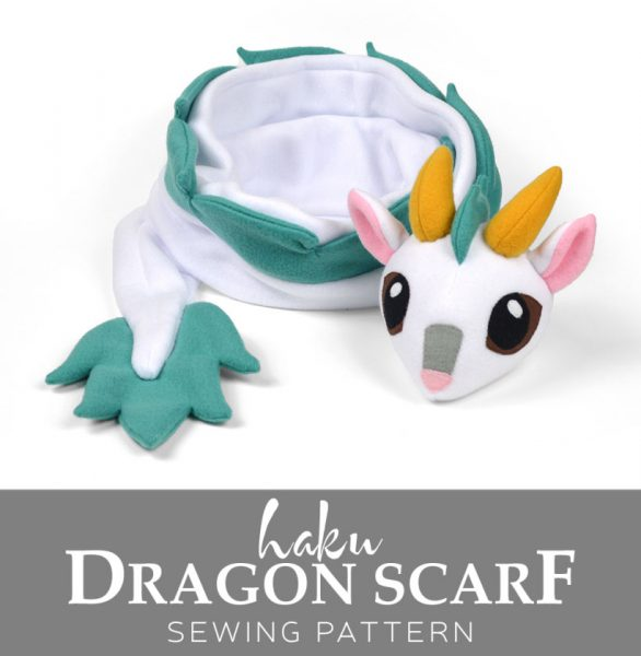 dragon diy scarf pattern