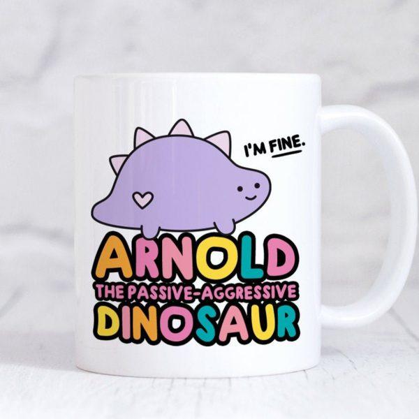kawaii dinosaurs mug